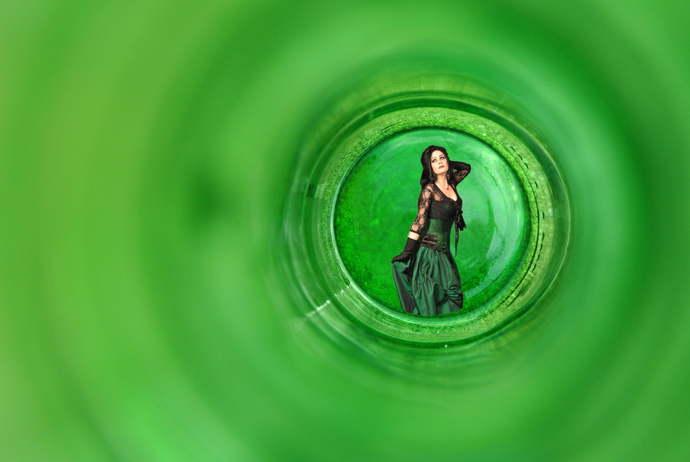 Green Bottle#Bhamra Suki