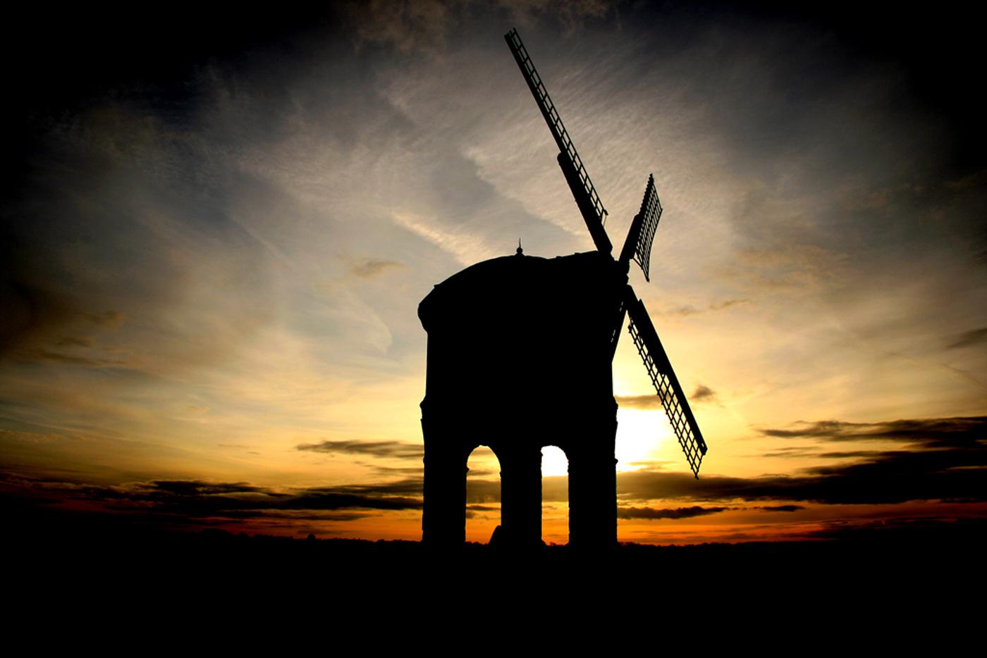 Windmill Sillouette